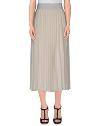 Crea Concept Skirts 3 4 Length Skirts Women Ivory