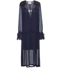See By Chloe Mytherersa.Com Exclusive Crepe Dress Blue