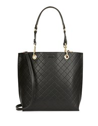 Calvin Klein Reversible Quilted Tote Black
