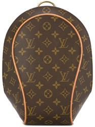 Louis Vuitton Vintage Ellipse Sac A Dos Backpack Brown