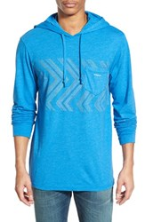Men's Vissla 'Raised By Waves' Graphic Pocket Hoodie Royal Blue