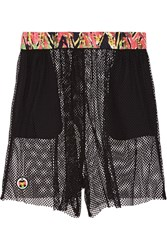 M Missoni Stretch Mesh Shorts Black