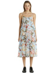 I'm Isola Marras Floral Printed Light Crepe Layered Dress