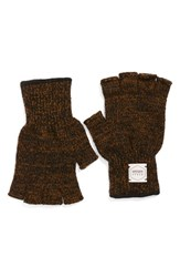 Men's Upstate Stock 'Ragg' Fingerless Wool Blend Knit Gloves
