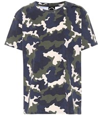 The Upside Simba Camouflage Cotton T Shirt Multicoloured