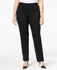 Jm Collection Plus Size Pull On Pants Only At Macy's Deep Black