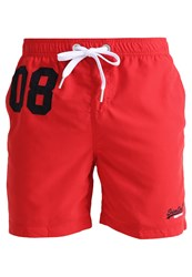 Superdry Swimming Shorts Hyper Red