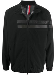 Rossignol Striped Front Zip Through Jacket Black