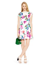 Kate Spade Blooms Fit And Flare Dress