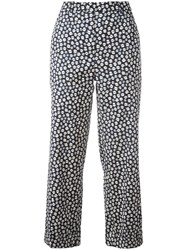Christian Wijnants Printed Trousers Blue