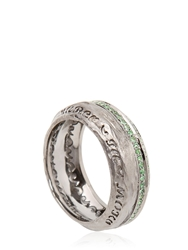Marco Ta Moko The Other Half Ring Green