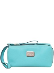 Tod's Leather Toiletry Bag