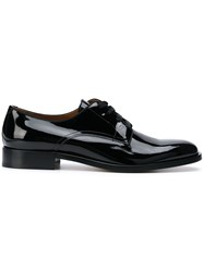 Givenchy Patent Lace Up Shoes Black