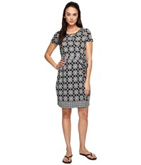 Aventura Clothing Garland Dress Black Women's Dress