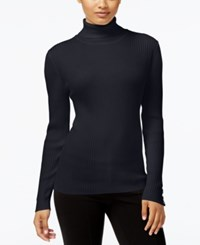 Styleandco. Style Co. Turtleneck Sweater Only At Macy's Dark Grape