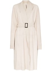 Rick Owens Mountain Belted Coat 60