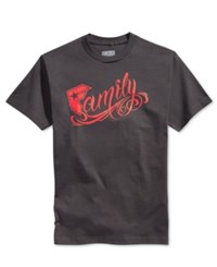 Famous Stars And Straps Famous Stars And Straps New Family Men's T Shirt Tar Grey