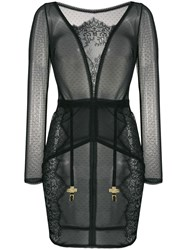 Maison Close Inspiration Divine Dress Black