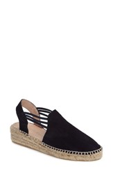 Patricia Green Women's Elba Espadrille Sandal Navy Suede