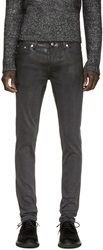 Blk Dnm Black Partially Coated 25 Jeans