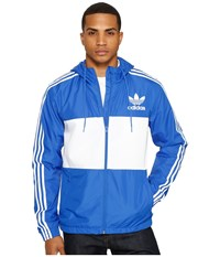 Adidas California Windbreaker Blue Men's Clothing