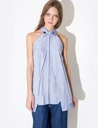 Pixie Market Eye Wink Collar Shirt