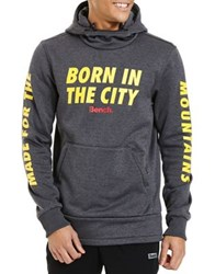 Bench Born In The City Hoodie Blue