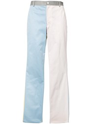 Thom Browne Block Colour Tapered Trousers Multicolour