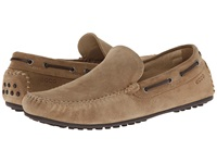 Ecco Hybrid Moc Navajo Brown Cow Suede Men's Moccasin Shoes
