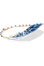 Rosantica Hawaii Gold Tone Blue