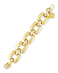 Ashley Pittman Bila Hammered Bronze Square Link Bracelet