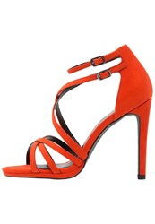 New Look Sabrina High Heeled Sandals Bright Orange