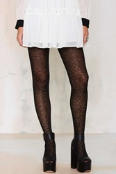 Nasty Gal Aria Medallion Tights