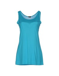 Snobby Sheep Topwear Vests Women Azure