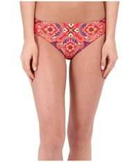 Prana Lani Bottom Neon Orange Jasmine Women's Swimwear