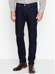 Paul Smith Ps By Straight Leg Jeans Indigo Rinse Black
