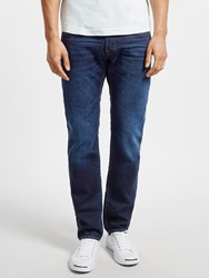 Edwin Ed 55 Relaxed Tapered Jeans Deep Blue Denim Coal Wash