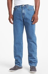 Cutter And Buck Men's Classic Five Pocket Straight Leg Jeans