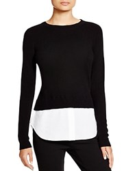 C By Bloomingdale's Cashmere Shirttail Sweater