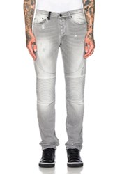 Marcelo Burlon Biker Slim In Gray