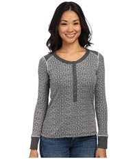 Kuhl Mia Thermal Carbon Women's Long Sleeve Pullover Gray