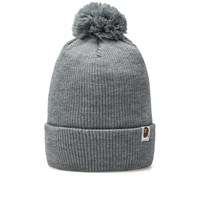 A Bathing Ape Knit Cap Grey
