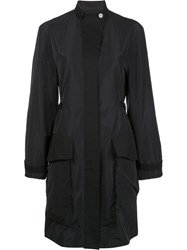 Maiyet Oversized Flap Pockets Coat Black