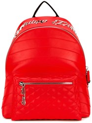 Philipp Plein Bangui Backpack Red