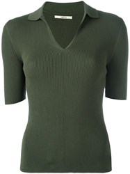 J Brand V Neck T Shirt Green