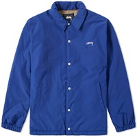 Stussy Smooth Stock Coach Jacket Blue