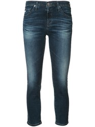 Ag Jeans 'Prima' Cropped Blue