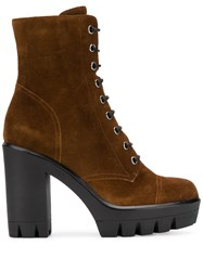 Giuseppe Zanotti Lace Up Suede Boots 60