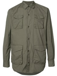 Undercover Cargo Pocket Shirt Green