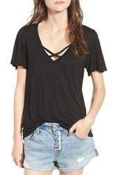 Pst By Project Social T Women's Cross Front Tee